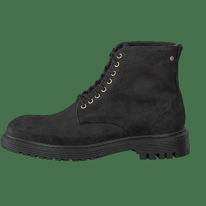 Kjøp Sharp Steve Grå Suede Boots Black Sko Online Sneaky Exr16PqwE