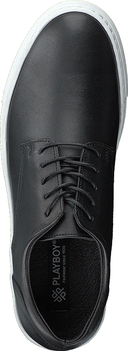 093230ccb Playboy Sneakers Black Leather