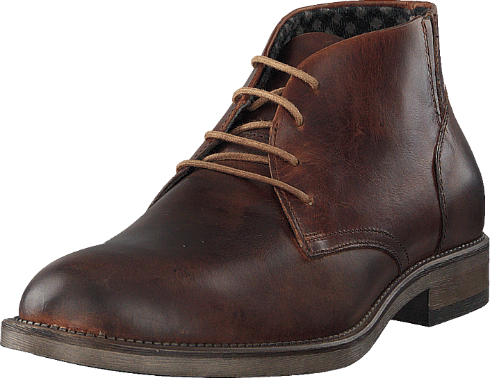 Playboy Chukka Brown Leather