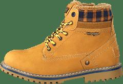 Kjøp Wrangler Starry Low Denim Blue Denim sko Online