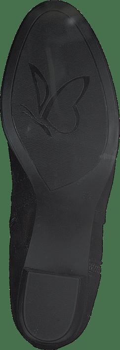Caprice - Balina Black Nubuc Comb