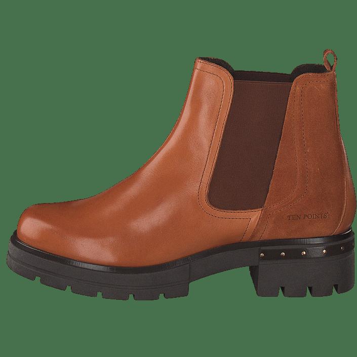 90 Røde Points Ten Støvler Online Sko Cognac Alice Boots 60097 Og Køb xqFwAHPOH