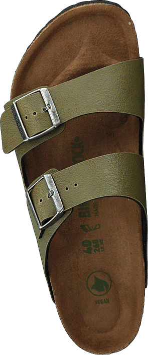 Birkenstock - Arizona Regular Vegan Birko-fl Pull Up Olive
