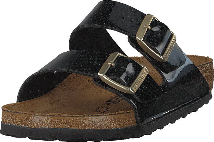 Birkenstock - Arizona Regular Birko-flor Magic Snake Black