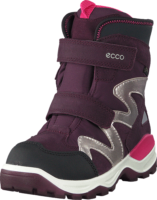 Ecco - Snow Mountain Black/mauve