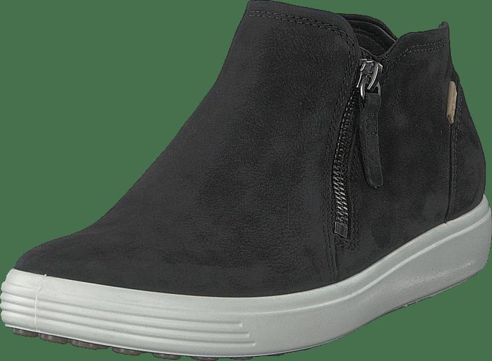 Ecco Soft 7 svart svarta Skor Online
