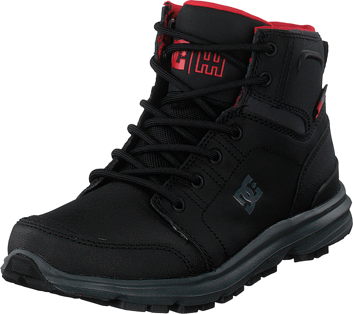 DC Shoes - Torstein Black/grey/red