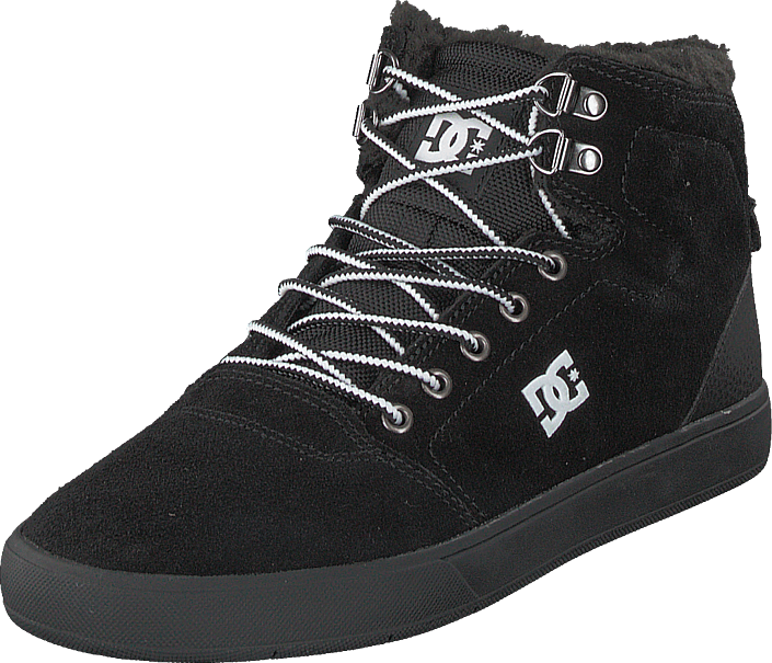 DC Shoes - Crisis High Wnt Black/white/black