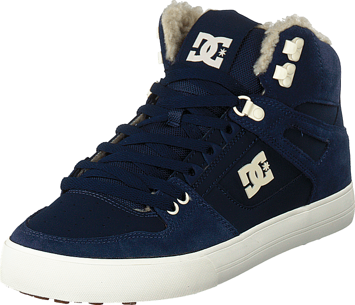 DC Shoes - Pure High-top Wc Wnt Navy/khaki