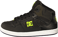 BootsitMatalapohjaiset kengätSneakerit ja urheilukengätSandaalit ja  tohvelitSaappaat ja saapikkaatKorkokengät. DC Shoes - Pure High-top Se  Black camo 65be07f330