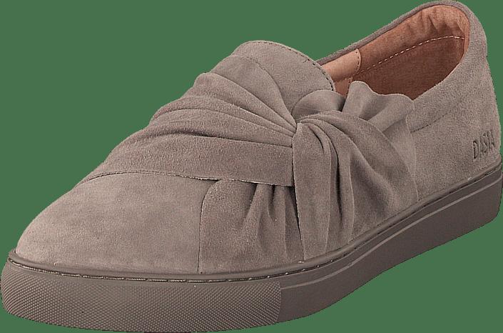Dasia - Daylily Slip-on Bow Grey/grey