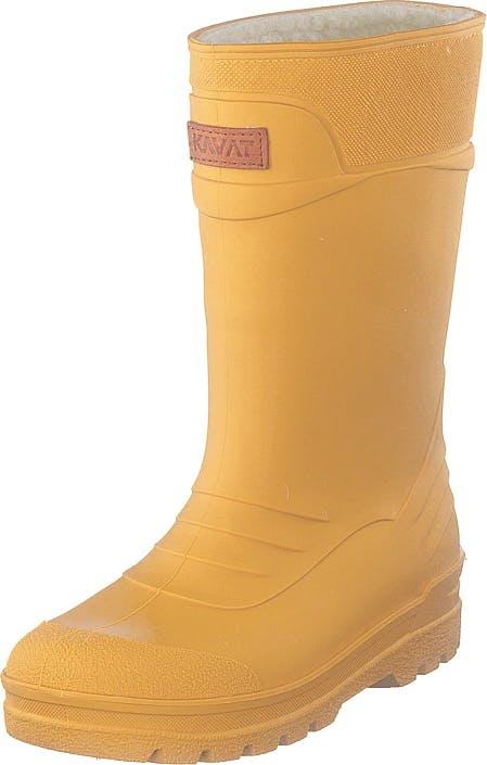 Kavat Pöl Wp Yellow, Skor, Stövlar & Stövletter, Gummistövlar, Orange, Barn, 25