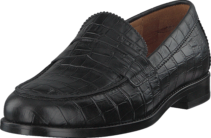 Hope - Patty Loafer Black Croco