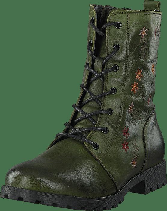 Emma - 495-1030 Warm Lining Green