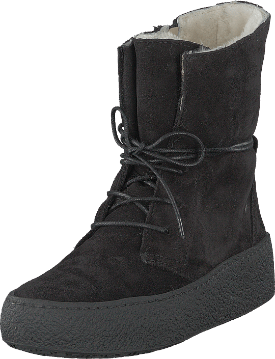 Emma - 495-1521 Wool Lining Black