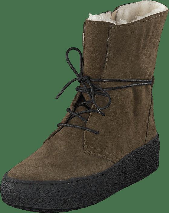 Emma 495 1521 Wool Lining grön bruna Skor Online