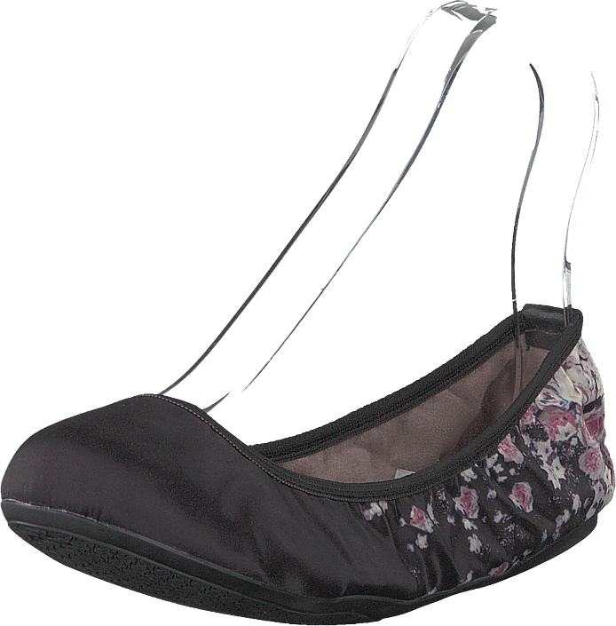 Butterfly Twists - Sophia Black Scattered Floral