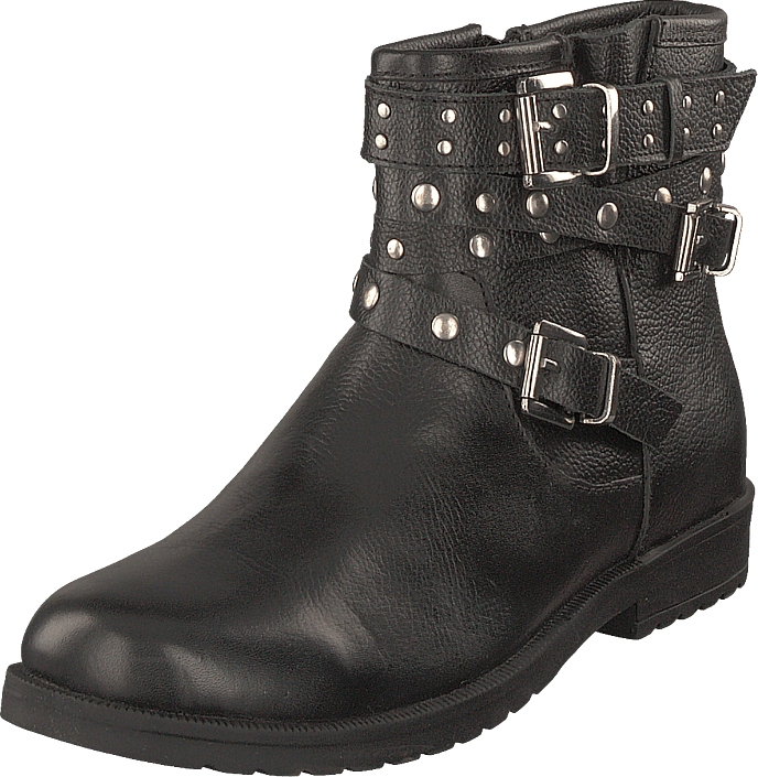 Gulliver - 451-0061 Warm Lined Leather Black