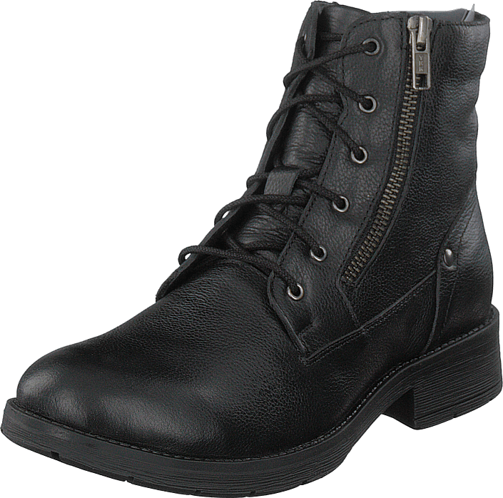 Gulliver - 451-5010 Leather Warm Lined Black
