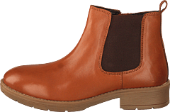 451-5011 Warm Lined Leather Cognac