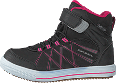 430-3042 Waterproof Warm Lined Black/fuchsia