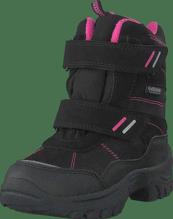 430-9113 Waterproof Warm Lined Black/fuchsia