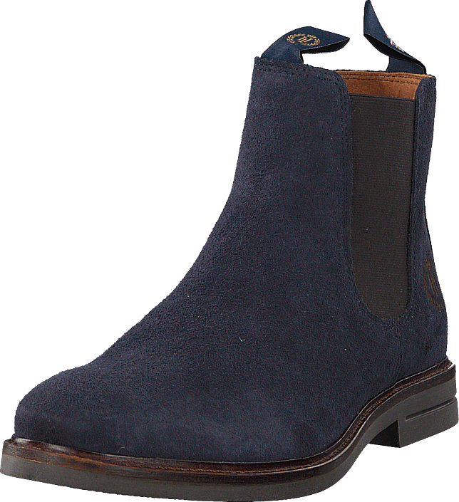 Henri Lloyd - Graham Boot Suede Navy Nav