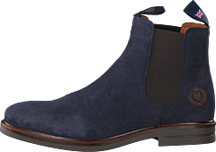 Graham Boot Suede Navy Nav