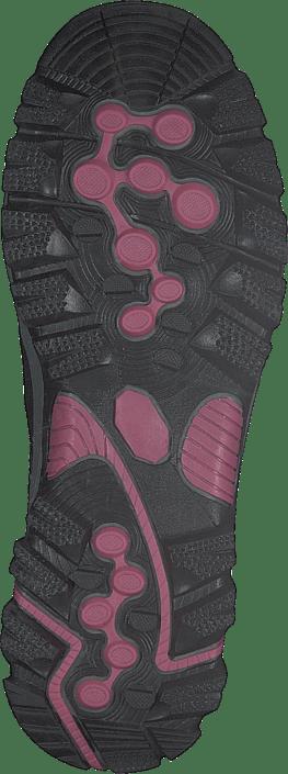 Polecat 435-3111 Comfort Sock Black/fuxia 215487793