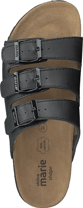 Black Online Sköna Køb Tøfler Sko 00 Grå Og Sandaler 60102 Marie Crown Z7Cfgq