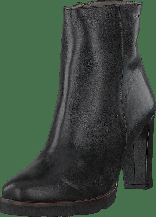 5f45f652ce4c Buy Wonders Foulard Negro Black grey Shoes Online