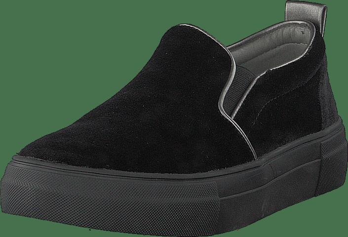 Slip Sko Esprit Online Black Dasha Sorte 36 On 60103 Flade Køb Velvet UtnS4xwUq
