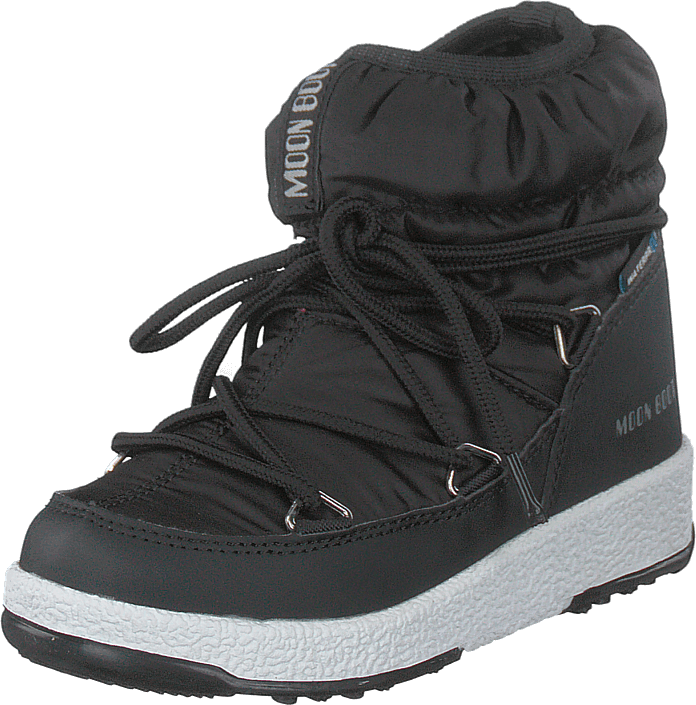 Moon Boot - W.e Jr Girl Low Nylon Black