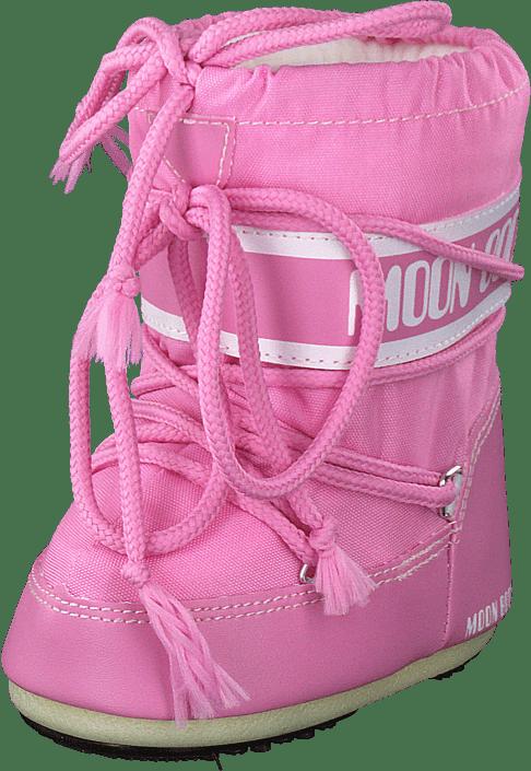Moon Boot - Mini Nylon Pink