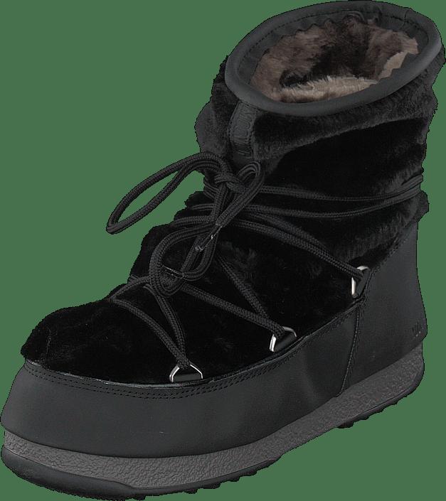 Monaco 56 Boots Online Køb Og Støvler 60103 Black Boot Fur Sorte Moon Wp Low Sko E6ZHq