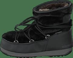 best service 56324 9157b Fur Moon Boot Wp Black Low Monaco wA6zf6xY