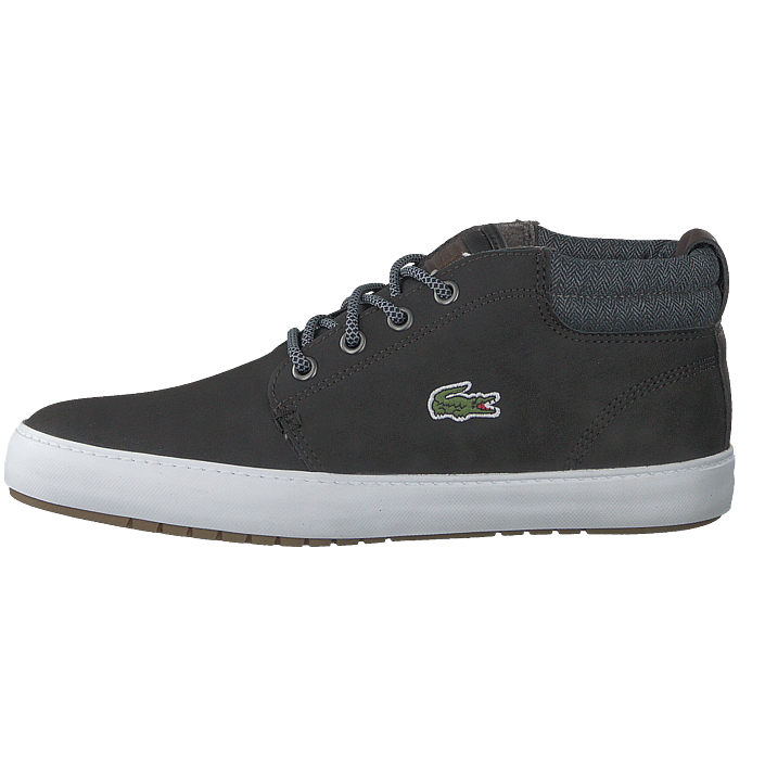 bcd920ae77fae9 Buy Lacoste Ampthill Terra 318 1 Blk gry purple Shoes Online ...