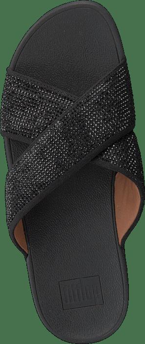 Sorte Kjøp Slide Fitflop Sandals Black Ritzy Online Sko wIxIBrP