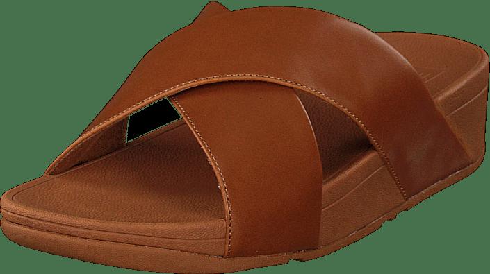 Lulu Cross Leather S Caramel