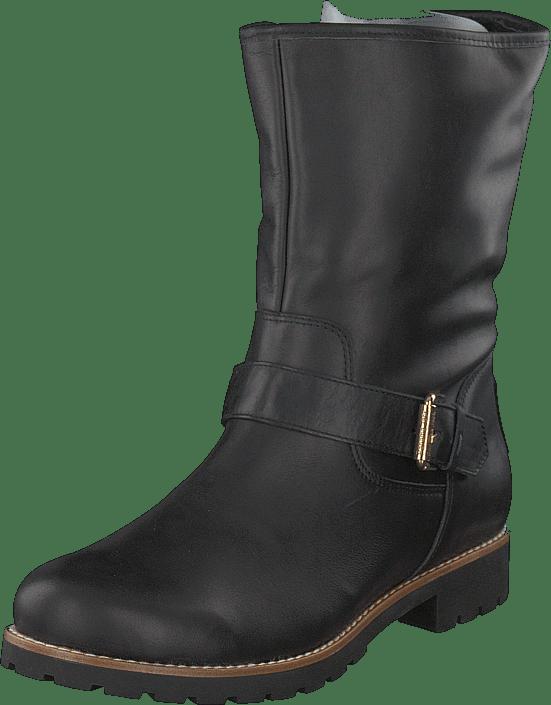 4bd20eaef17c01 Buy Panama Jack Singapur Igloo Napa Negro black grey Shoes Online ...