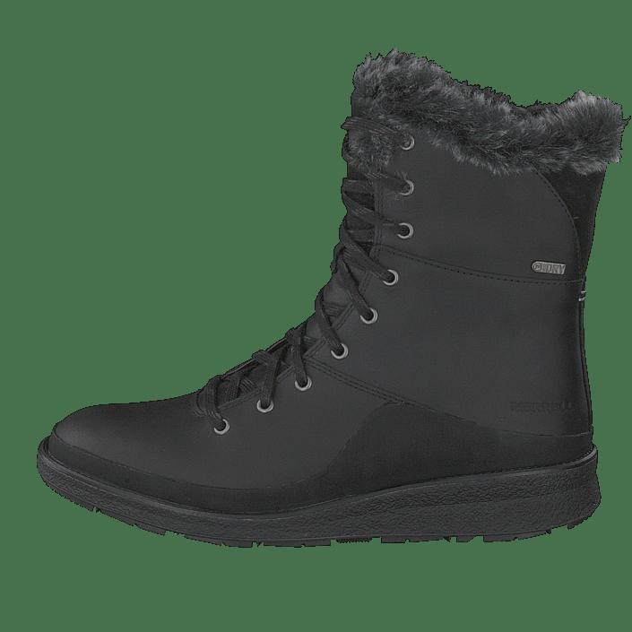 Merrell Ice Online Boots Kjøp Sorte Tremblant Sko Black Ezra Wtpf Lace HCwqCO