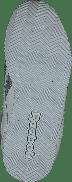 db2a5e49633 Koop Reebok Classic Royal Cljog White/silver Sparkle witte Schoenen ...