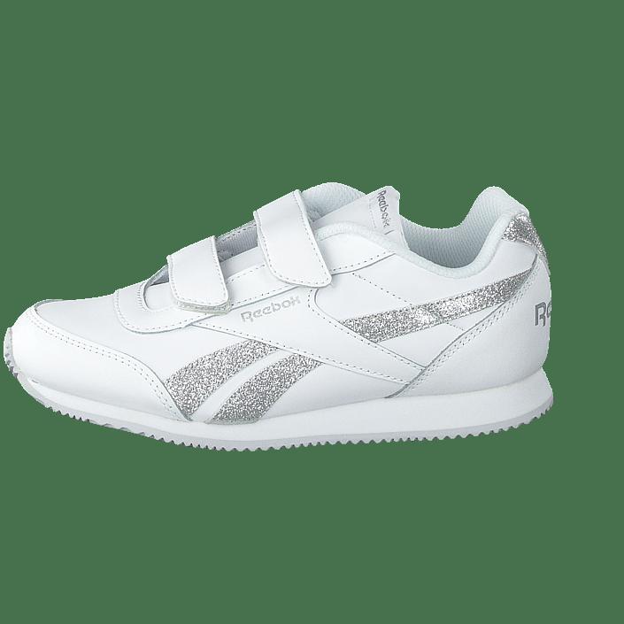c575c73a666 Koop Reebok Classic Royal Cljog White/silver Sparkle witte Schoenen Online    FOOTWAY.nl
