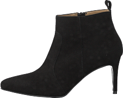 Esther Goat Suede Black