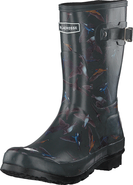 Lacrosse - Welly 10'' Bird Print Dark Shadow