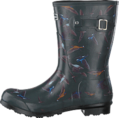 Welly 10'' Bird Print Dark Shadow