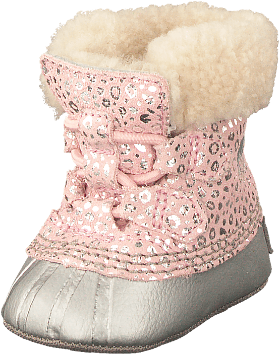 Sorel - Caribootie 626, Dusty Pink, Chrome Grey