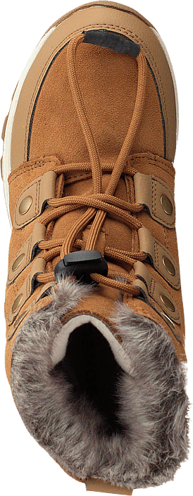 Youth Whitney Suede 286 Elk, Natural