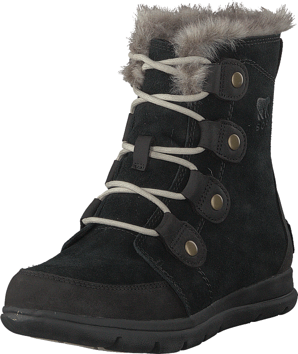 Sorel - Sorel Explorer Joan 010, Black, Dark Stone