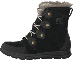 Sorel Explorer Joan 010, Black, Dark Stone